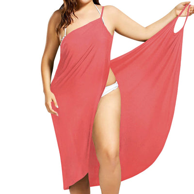 Plus Size Pareo Beach Cover Up Wrap Dress Bikini Swimsuit Bathing Suit Cover Ups Robe De Plage  Beach Wear Tunic kaftan Swimwear - Shopperstrail