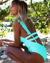 Halter Top Monokini Swimsuits Beach Costumes