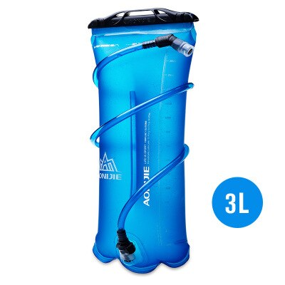Folding Water Bag 1.5-3L Thick TPU Wear-resistant Sports Bags Portable 105cm Straw Water Bladder Running Riding Hiking Waterbags - Shopperstrail