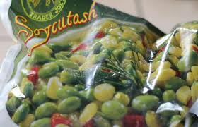 Trader Joe's Soycutash (Soybeans, Corn, and Red Peppers) (Frozen)