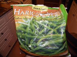 Trader Joe's Haricot Vert French Green Beans (Extra Fine, Frozen)
