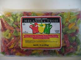 Trader Joe's Melange a Trois Bell Pepper Mix (Red, Yellow, and Green Bell Peppers) (Frozen)