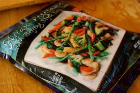 Trader Joe's Asian Vegetables (with Beijing Style Soy Sauce)