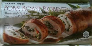 Trader Joe's Pork Roast Florentine (Filled with Spinach, Cheese, and Peppers) (Frozen)