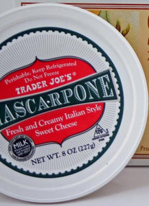 Trader Joe's Mascarpone Cheese