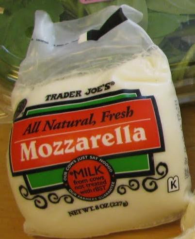 Trader Joe's Fresh Mozzarella Cheese