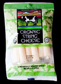 Trader Joe's Organic String Cheese