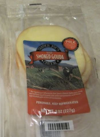 Trader Joe's Sliced Smoked Gouda Cheese