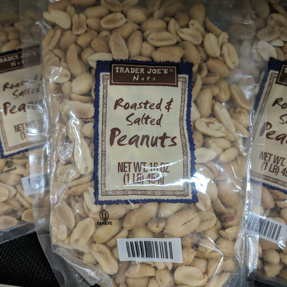 Trader Joe's Roasted and Salted Peanuts