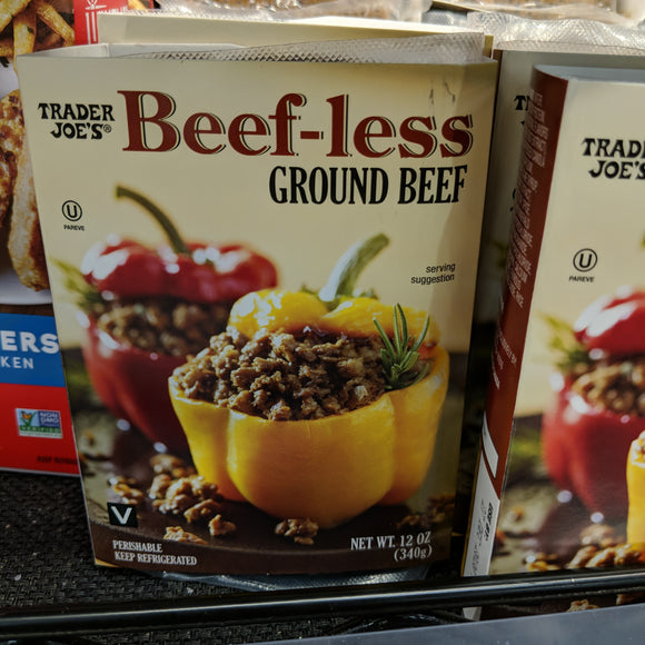 Trader Joe's Beefless Ground Beef (Vegan)