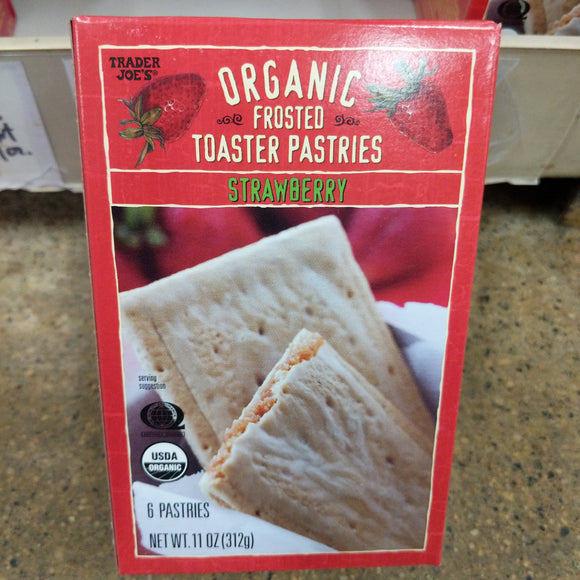 Trader Joe's Organic Frosted Toaster Pastries (Strawberry)