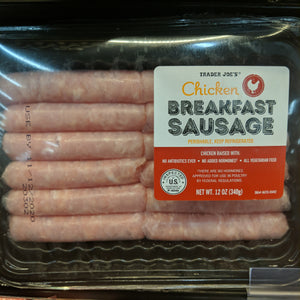 Trader Joe's Uncooked Chicken Breakfast Sausage