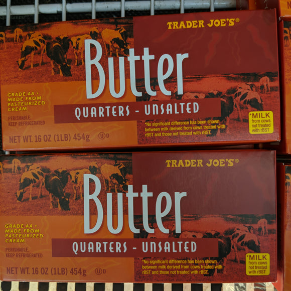Trader Joe's Butter Quarters (Unsalted)
