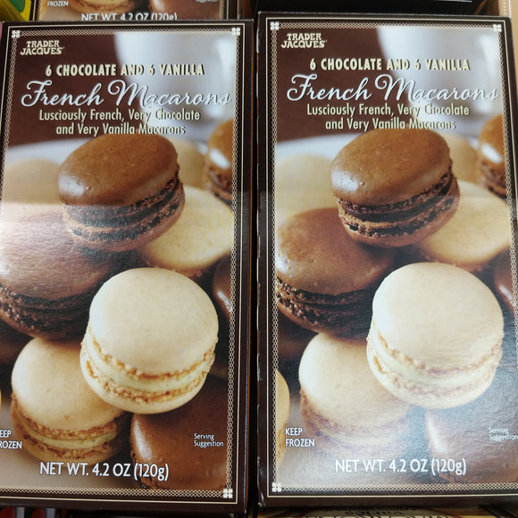 Trader Joe's Vanilla & Chocolate Macarons