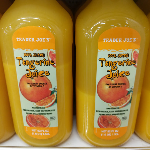 Trader Joe's Tangerine Juice (Quart)