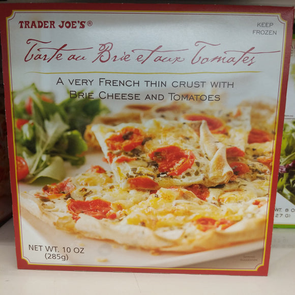 Trader Joe's Tarte aux Tomatoes (French Thin Crust with Brie Cheese and Tomatoes, Frozen)
