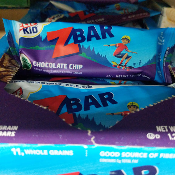 Organic Clif Kid Z Bar (Chocolate Chip)