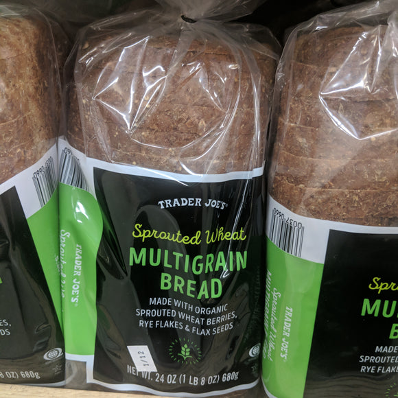 Trader Joe's Sprouted Multi-Grain Wheat Bread