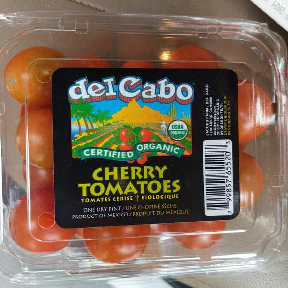 Whole Foods Organic Cherry Tomatoes