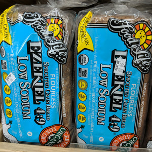 Organic Ezekiel Low Sodium Bread