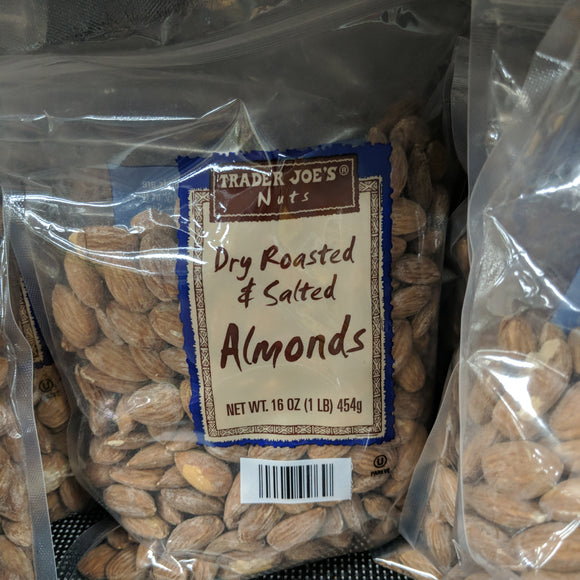 Trader Joe's Dry Roasted and Salted Almonds