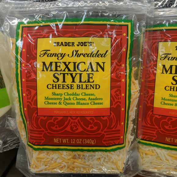 Trader Joe's Fancy Shredded Mexican Blend Cheese