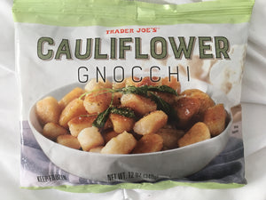 Trader Joe's Cauliflower Gnocchi (Frozen)