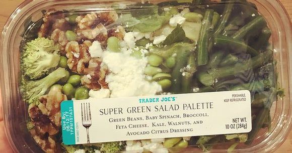 Trader Joe's Salad Palette Super Greens
