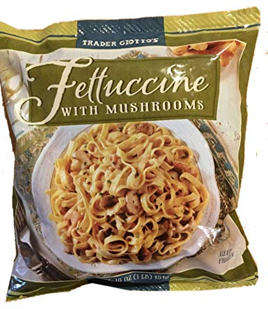 Trader Joe's Fettuccine with Mushrooms (Frozen)