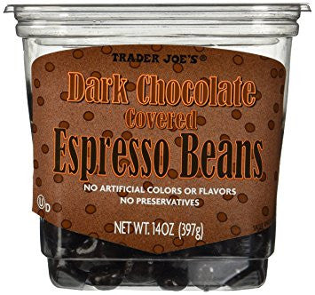Trader Joe's Dark Chocolate Covered Espresso Beans
