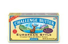 Challenge Unsalted Eurpoean Style Butter