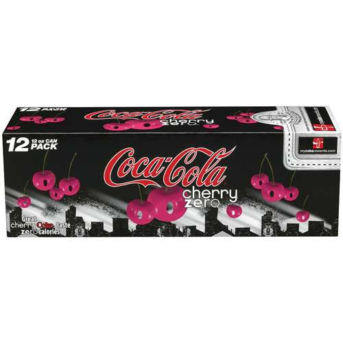 Cherry Coke Zero Fridge Pack