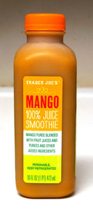 Trader Joe's Mango 100% Juice Smoothie