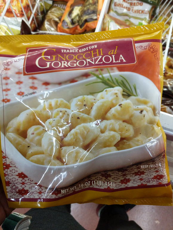 Trader Joe's Gnocchi al Gongonzola (Potato Pasta in Cheesy Sauce)