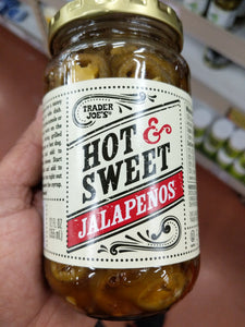 Trader Joe's Hot and Sweet Jalapenos