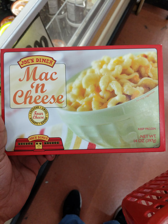 Trader Joe's Frozen Four Cheese Mac and Cheese