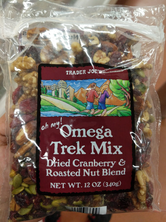 Trader Joe's Oh My! Omega Trek Mix