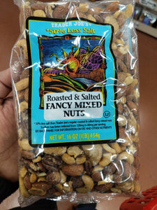 Trader Joe's Fancy Salted Mixed Nuts