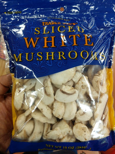 Trader Joe's Sliced White Mushrooms