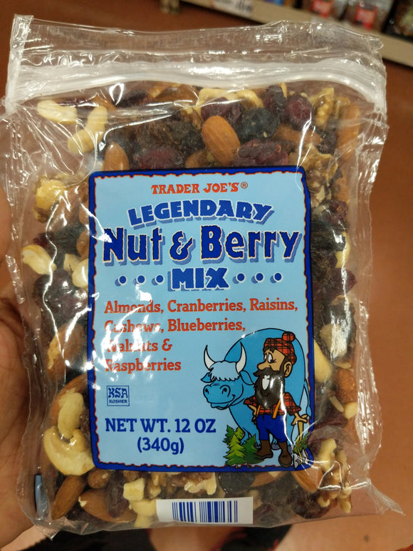 Trader Joe's Legendary Nut & Berry Mix