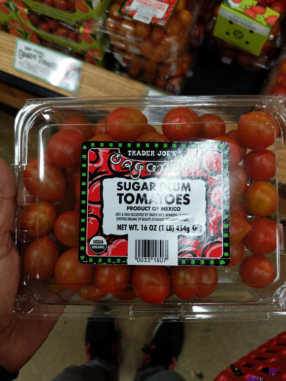 Trader Joe's Organic Sugar Plum Tomatoes