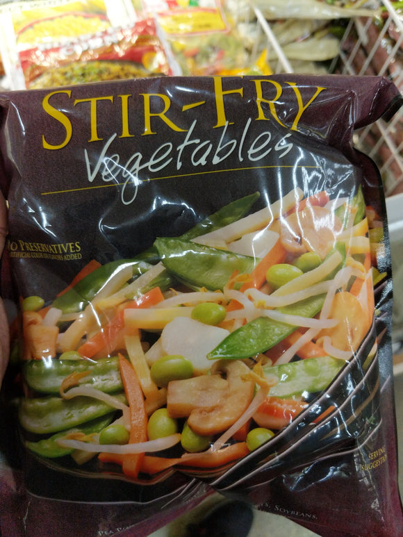 Trader Joe's Stir Fry Veggies (Frozen)