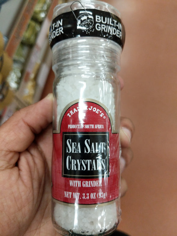 Trader Joe's Sea Salt Crystals (w/ Grinder)