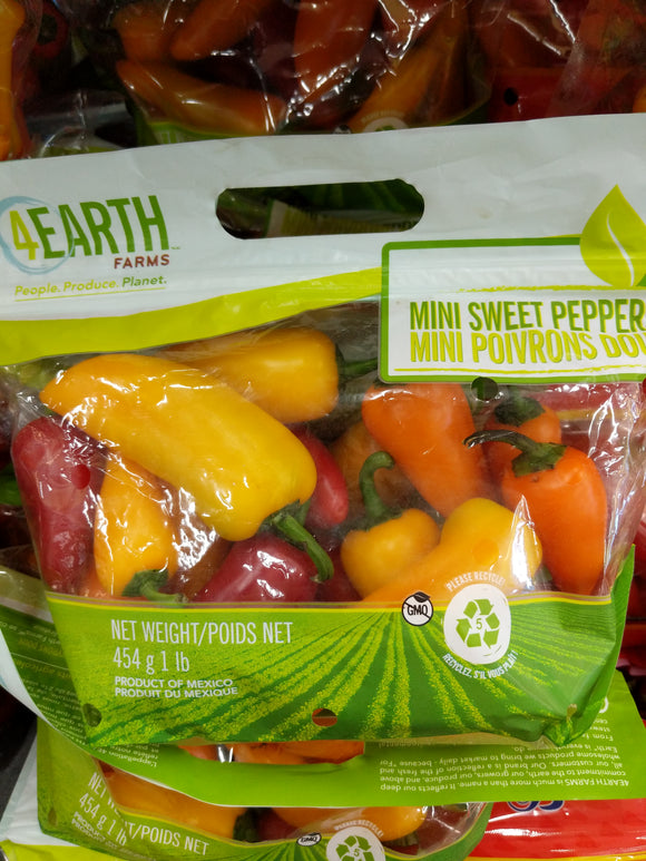 Trader Joe's Super Sweet Baby Bell Peppers