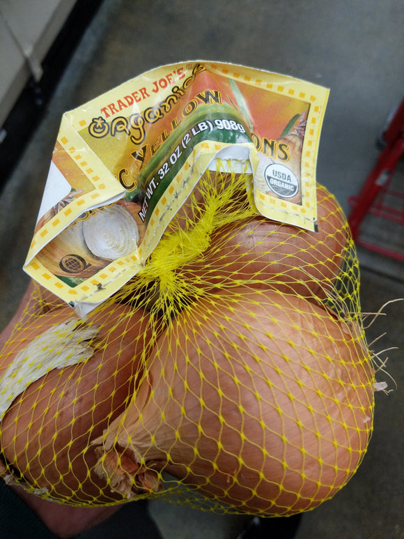 Trader Joe's Bag of Organic Yellow Onions