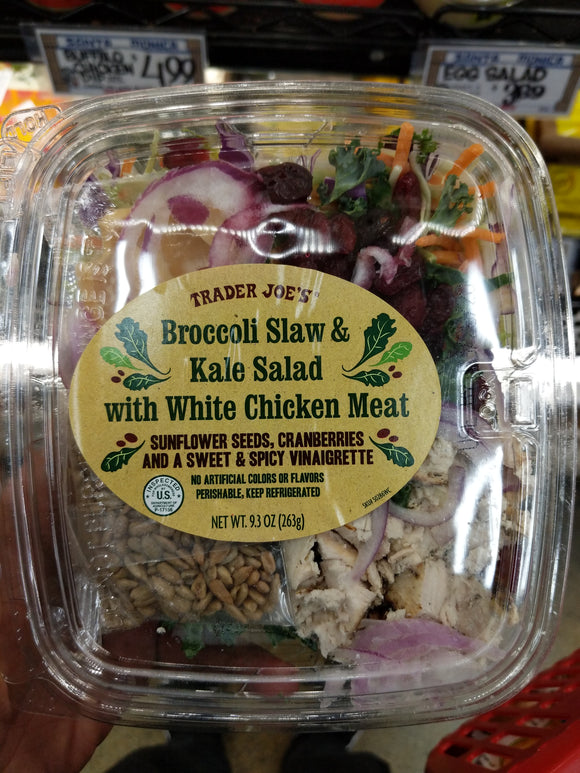 Trader Joe's Chicken Kale Salad