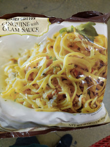 Trader Joe's Linguine w/ Clam Sauce (A Meal for 3!)