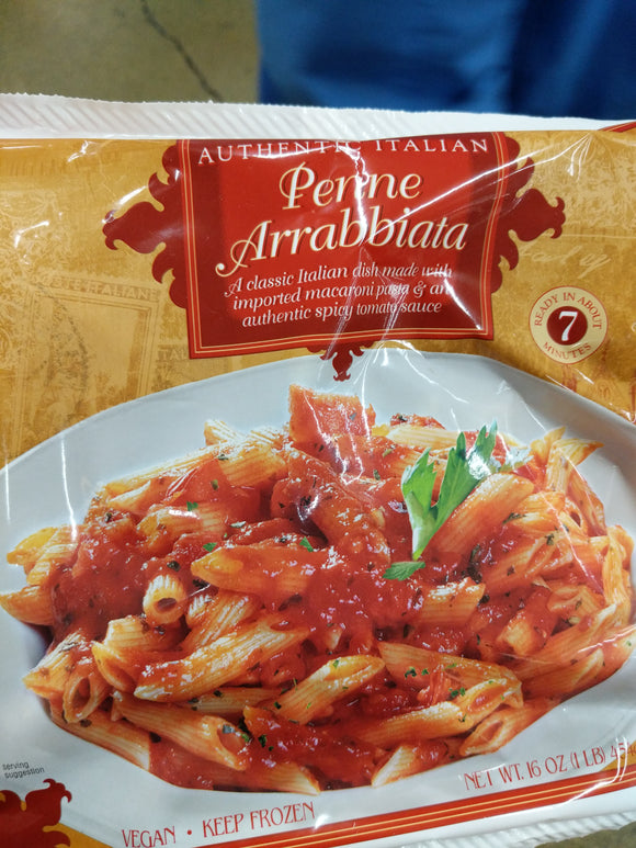 Trader Joe's Penne Arrabbiata (Imported Pasta and Spicy Tomato Sauce)