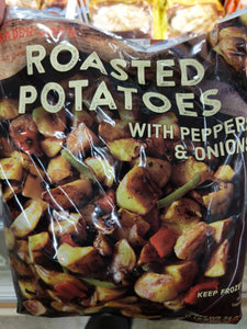 Trader Joe's Roasted Potatoes (with Peppers and Onions) (Frozen)