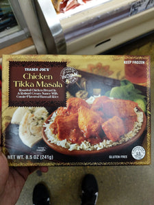 Trader Joe's Chicken Tikka Masala (With Cumin Flavored Basmati Rice)